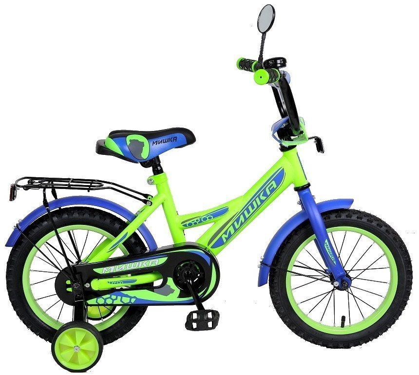 """Детский велосипед 16"""" Мишка"""