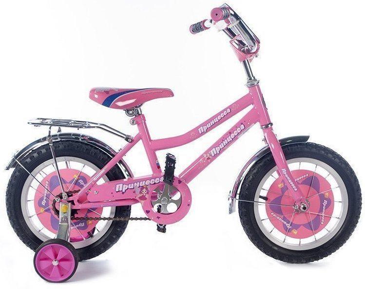 """Детский велосипед Принцесса 14"""""""