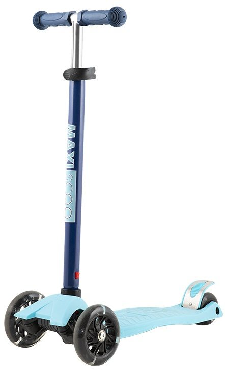 Самокат трехколесный  Maxiscoo Junior со свет. колесами