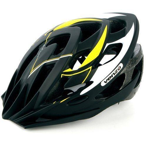 Шлем VENZO VZ-F26M-010, MTB, желтый, L(57-60), 240гр