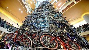 Ёлки из велосипедов