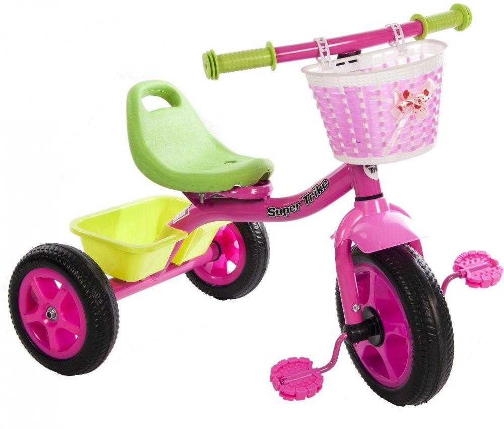 Детский трехколесный велосипед  CH-011GIRL EVA
