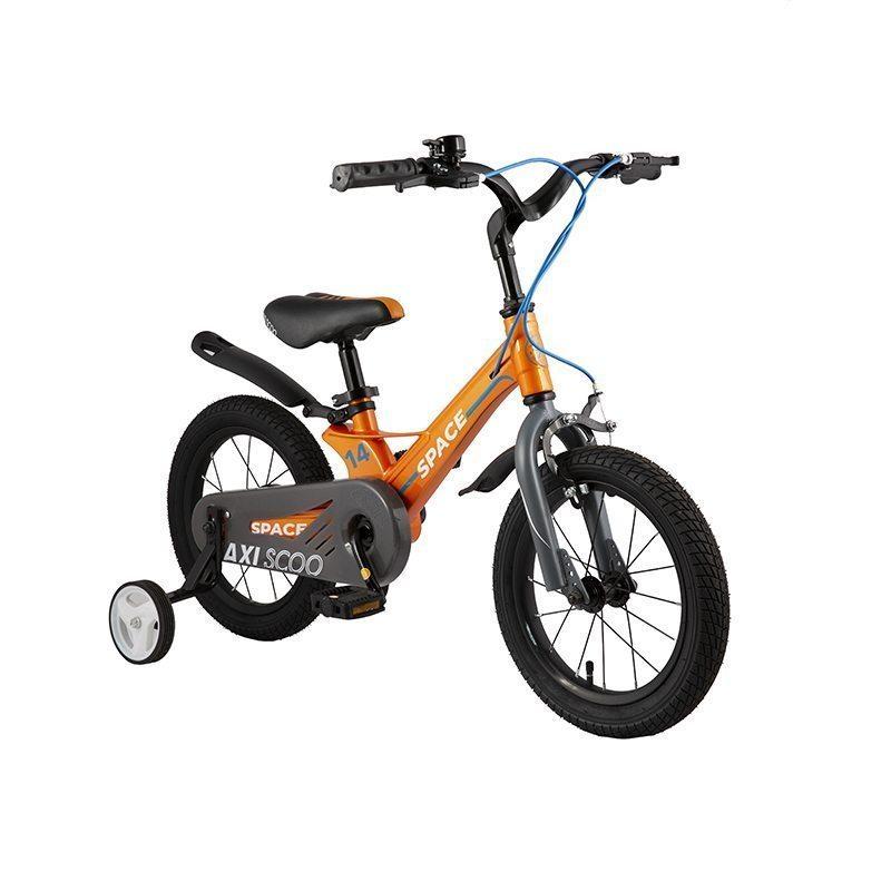 """Детский 2- колесный велосипед Maxiscoo Space Стандарт, 14"""" (2021)"""