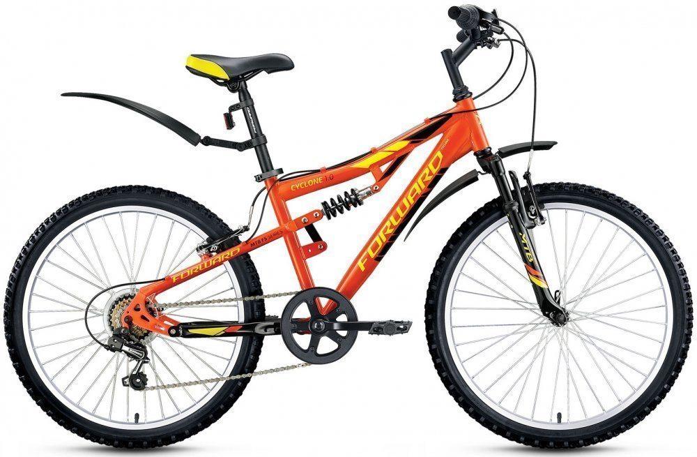 Подростковый велосипед Forward Cyclone 24 1.0 (2017)