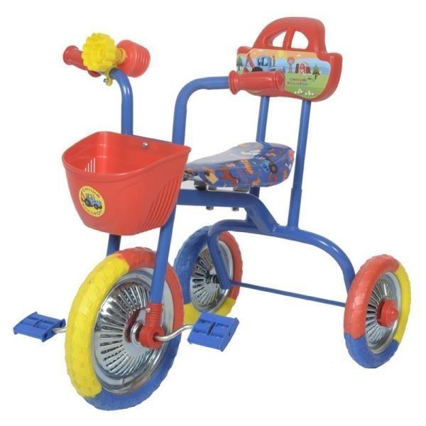 Велосипед 3-х кол. Синий трактор EVA 7021M3BTR-21